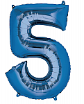 Blue Number 5