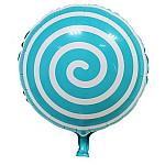 Blue Candy Swirl