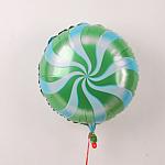 Green & Light Blue Candy Twist
