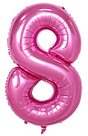Pink Number 8