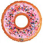 Giant Mylar Pink Sprinkle Donut