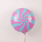 Pink & Light Blue Candy Twist